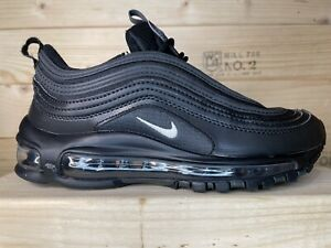 Nike Air Max 97 GS- Youth- Size 5Y- Black- [921522-011]- Running Shoes