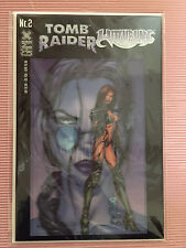 9.8 NM/M TOMB RAIDER WITCHBLADE # 1 GERMAN EURO VARIANT GAMIX 3D FX COVER WP