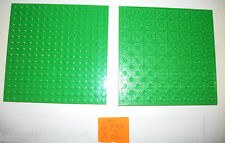 LEGO 16x16 STACKABLE Base Plate New Light Bright Green 91405 4SET 10247 31012