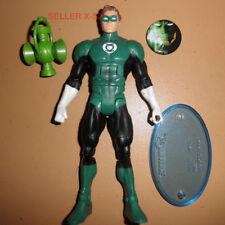 HAL jordan DC universe GREEN LANTERN figure toy STAND dcu JLA corps + PIN