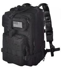 Evatac Military Tactical Assault Backpack Black