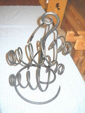 black metal free standing rack 4 springs wine jewlery coil spring