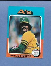 1975 TOPPS MINI BB #21 ROLLIE FINGERS/A'S EX/MT