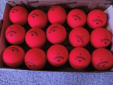 15 CALLOWAY Super Hot red  golf balls  FREE SHIPPING