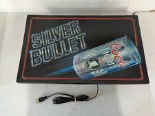Coors Light Silver Bullet Beer Lighted Sign
