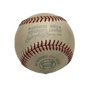 Vtg 1970-72 Joe Cronin Reach American League Baseball USA by Spalding