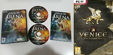legion arena gold includes cult of mithras & rise of venice gold   new&sealed