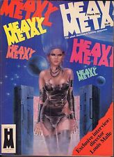 Heavy Metal March 1985 Louis Malle Illustrated Fantasy Magazine 011417DBE2