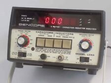 """SENCORE LC53 """"Z METER"""" CAPACITOR-INDUCTOR ANALYZER AND SENCORE MANUAL"""