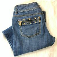Michael Kors Straight Leg Jeans Women's Size 2 Zipper Pockets