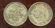 CONGO   BELGE   50 centimes 1926  (  belgisch )