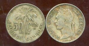 CONGO   BELGE   50 centimes 1926  (  belgisch )   ( bis )