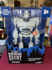 The Iron Giant Warner Bros 14-inch Light and Sound Motorized Walking New Mint