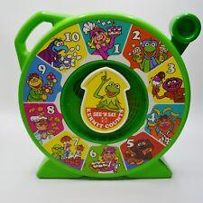 See N Say Kermit Counts Jim Henson Muppets Mattel Vintage 1990 - Works