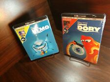 Finding Nemo + Dory Steelbook (4K Uhd+Blu-ray-No Digital) Free Box Shipping
