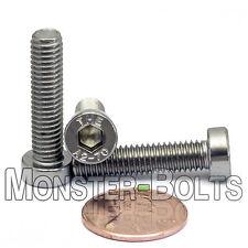 M6 - 1.00 x 25mm - Qty 10 - Stainless Steel LOW HEAD SOCKET CAP Screws  DIN 7984