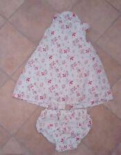 Baby girls Junior J Jasper Conran white floral dress & pants age 0-3 months