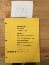New Holland 782 717S 770W 722R 822N2 822R2 770E Corn Snapper Parts Catalog 1983