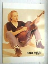 "Ana Egge ""River Under the Road"" Postcard (1997)"