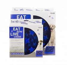 Eat Slow Feeder  LargeB lau ca.29,5 x 29,5 cm für mittelgroße und große Hunde