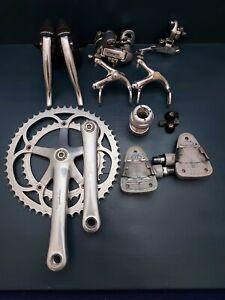 Vintage 90's Campagnolo Mirage 8 speed Groupset,Eddy Merckx PODIO pedals