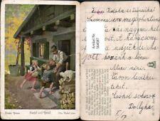 564587,tolle AK Märchen Otto Kubel Brüder Grimm Hänsel und Gretel