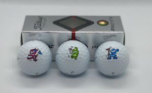 Scotty Cameron Japan M&G Wasabi Ginger & Eddie Mame Golf Balls Sleeve ProV1x