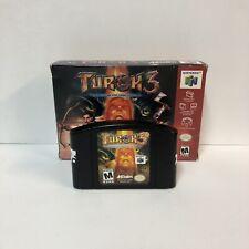 Turok 3: Shadow of Oblivion Nintendo 64, 2000 N64 Box & Cartridge Only!