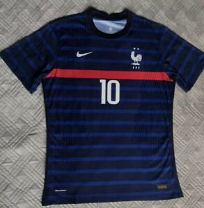 France Euros MBAPPE 10 Vapor Edition Home Shirt Men's Size Large