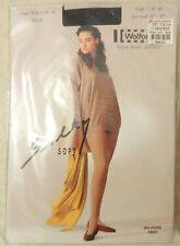 Wolford Silky Soft Tights - Black - S - 11% Silk - NEW