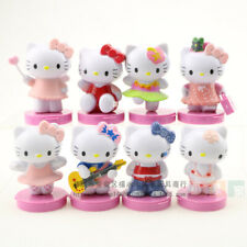 8Pcs Action Figures Hello Kitty Kt cat kid's Toy Child's Gift Girl's Hlkt toys