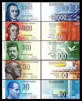 Finlandia - 2x  10, 50, 100, 500, 1000 Markkaa  - Edición 1986 - Reproducción 03