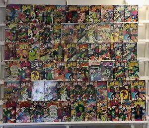 She-hulk Sensational She- Hulk Marvel  66 Lot Comic Book Comics Set Run