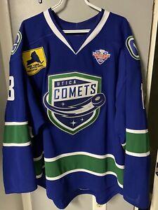 Utica Comets Vancouver Canucks Jake Virtanen Jersey Size 56