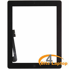 Compatible iPad3 Touch Screen Digitizer Glass Black with Home Button+Adhesive