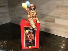 Emmitt Kelly Jr Flambro Sitting figurine