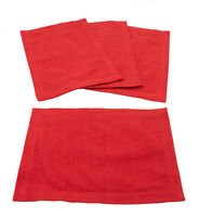 Elements Place Mats Red from Split-P 14x20 inches Set of 4