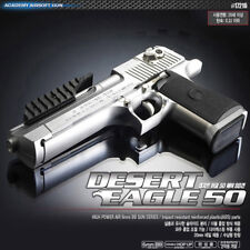 Academy Korea Desert Eagle 50 Silver Airsoft Pistol BB Replica Hand Toy Gun 6mm