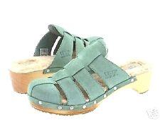 NIB 100% UGG ORE Clog Shoes WASABI Soft Muted Teal 6