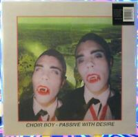 "CHOIR BOY - PASSIVE WITH DESIRE LP - Rare 12"" Coke Bottle Glass Green Vinyl"
