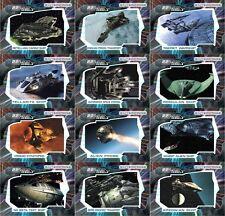 Star Trek Enterprise Season 2 - 12 Card Insert Set 22nd Century Vessels
