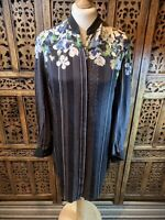 3.1 Phillip Lim Silk Tunic Floral And Stripe Design OVER SIZED Size 8 (A4)