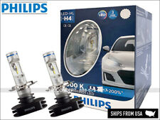 NEW! H4 PHILIPS LED X-treme Ultinon 12953BWX2 Hi/Low Beam 6000K Up to +200%