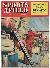 Sept 1952 issue Sports  Afield Skeet Shooting Cover