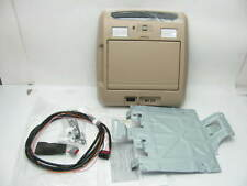 NEW GM Overhead Portable DVD Player Docking Station W/install Kit Light Cashmere