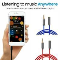 3,5-mm-Audio-Verlängerungskabel Stereo-Audio-Adapter für Stecker auf Buchse