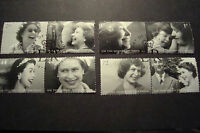 GB 2006 Commemorative Stamps~80th Birthday QE2~Very Fine Used Set~UK Seller