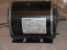 O. A. Smith Motor 1/3 Hp,  3 Ph, 208-230/460 Volt, Fr L48. RPM 1725, 60/50 Hz