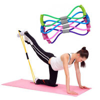 Professional Yoga Fitness Equipment Elastic Resistance Bands Tube Exercise Band