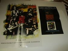 "Led Zeppelin - How The West Was Won [Promo Poster] 18"" by 24 + bonus p720"
